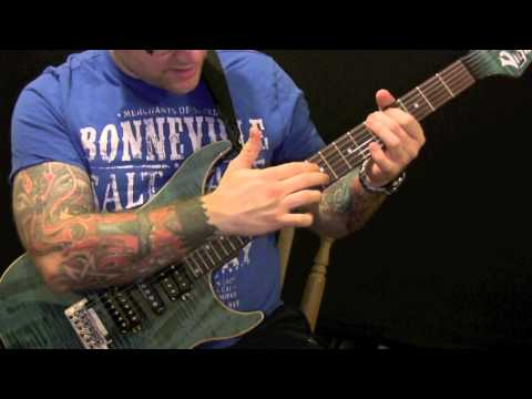 Two Handed Tapping Chords On The Guitar - How To Tap Chords With Two Hands