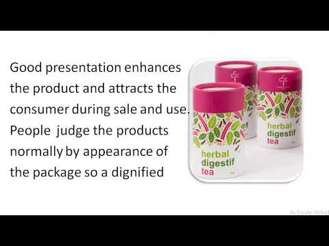 Pharmaceutical Packaging And Labelling- Introduction