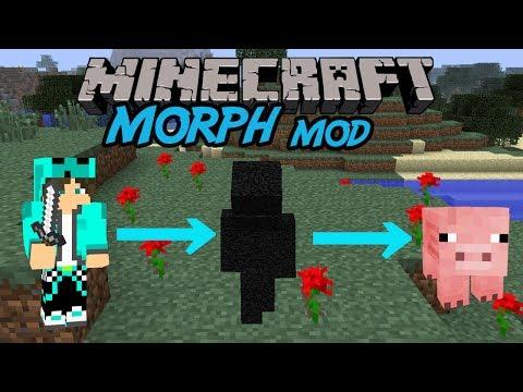 【MinecraftMOD紹介】倒したmobに変身できる/Morph MOD