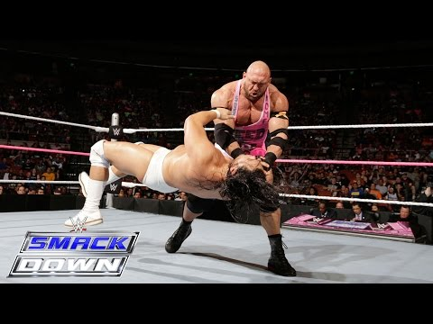 Ryback vs. Bo Dallas: SmackDown, October 22, 2015
