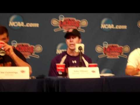 MD1: Maryland 16, Duke 10: Maryland Post-Game Press Conference
