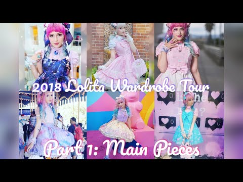 ☆ Claire's Lolita Wardrobe 2018 | Part 1: Main Pieces ☆