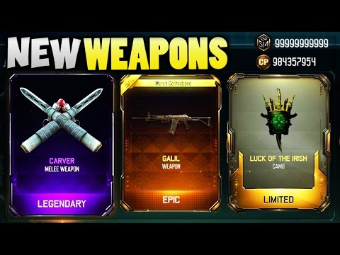 NEW BO3 WEAPONS!! BRIBE & SUPPLY DROP OPENING (BLACK OPS 3)
