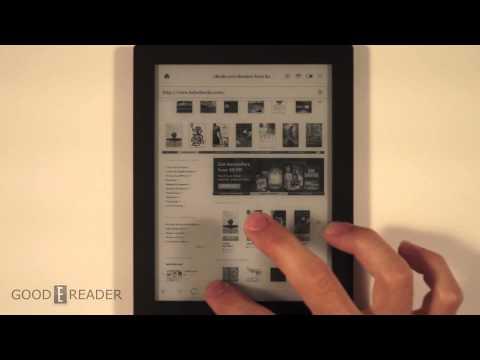 Kobo Aura HD Web Browsing