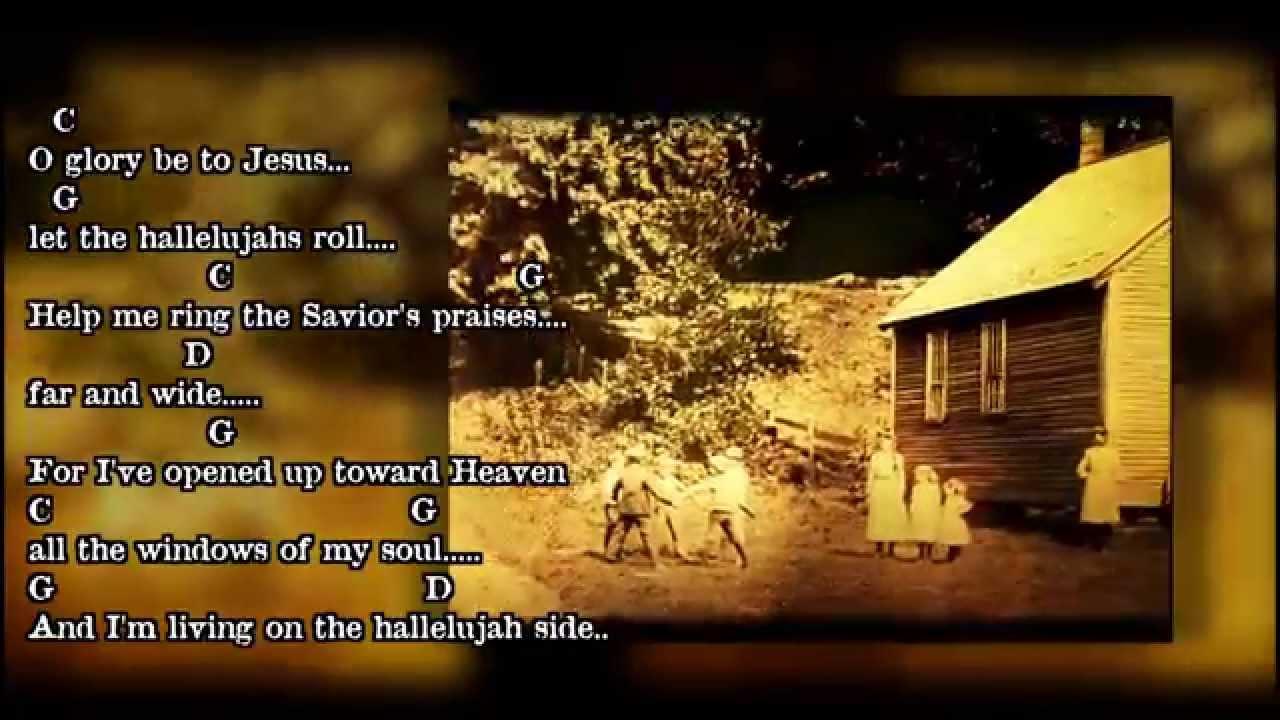 The hallelujah side bluegrass gospel hymn guitar chords lyrics the hallelujah side bluegrass gospel hymn guitar chords lyrics youtube hexwebz Choice Image
