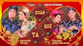 Như Quỳnh, Tâm Ðoan, Lương Tùng Quang & Thế Sơn - Xuân Quê Ta (Nhật Trung) PBN 80