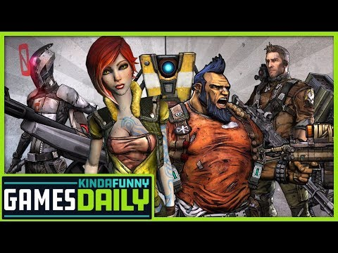 Randy Pitchford Sued, Rocket League Cross-Play Confirmed - Kinda Funny Games Daily 01.14.19