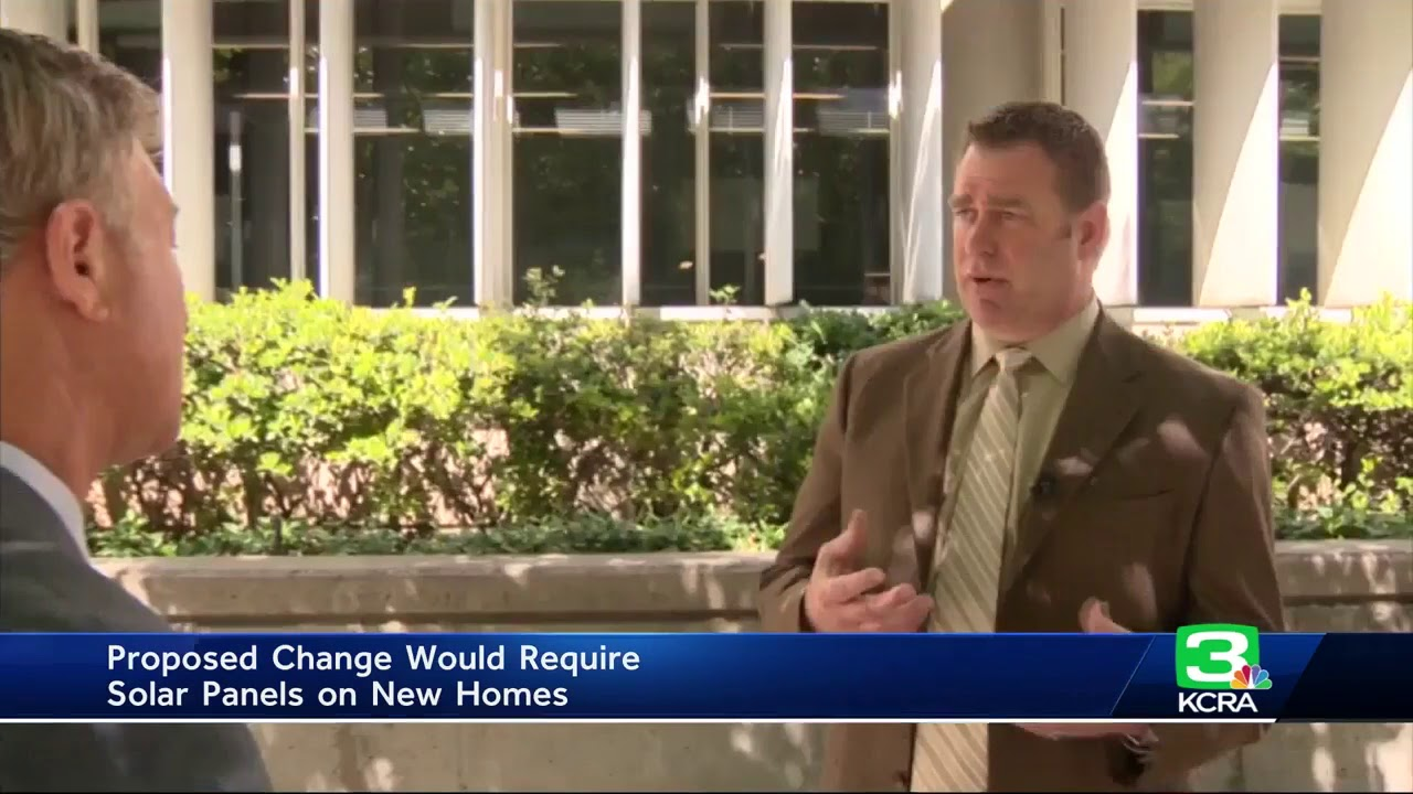 CA Energy Commission may require solar panels on new homes