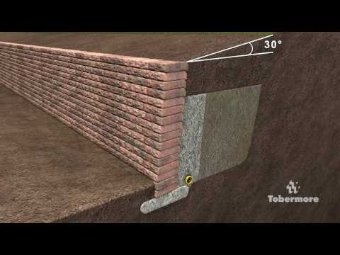 Tobermores Guide To Constructing Gravity Retaining Wall