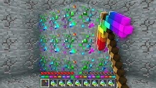 100 DÜNYANIN EN GÜÇLÜ KAZMASI 😱 - Minecraft