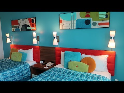 Universal Orlando Cabana Bay Resort Tour | Hotel Grounds, Family Suite & Volcano Bay View Room Tours