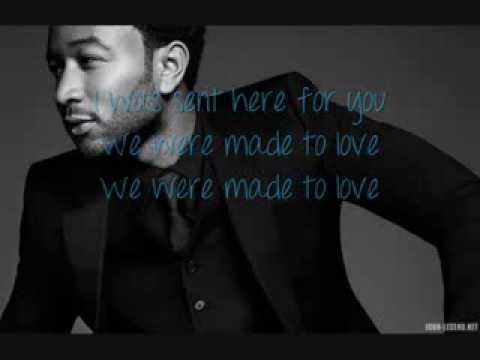 John Legend - Made To Love HQ (Lyrics)