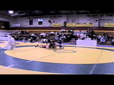 2002 Senior Greco National Championships: 74 kg Unknown vs. Colin Daynes
