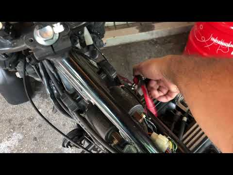 Starten des Yamaha XJ 750 Seca nach Einbau des Vergasers ohne sync
