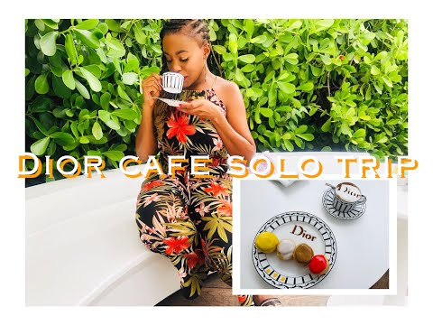 Solo Trip To Dior Cafe