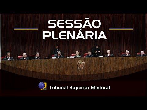 Sessão Plenária do dia 16 de outubro de 2018