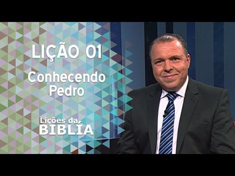 Lição 1 - Conhecendo Pedro - Lições da Bíblia