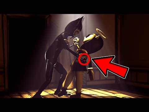 What Happens WHEN Bendy FINDS OUT where Alice Angel IS   Bendy And The Ink Machine Chapter 2 & 3