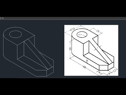 Autocad Isometric drawing 04