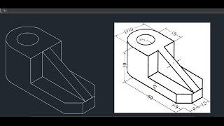 Autocad Isometric drawing 04