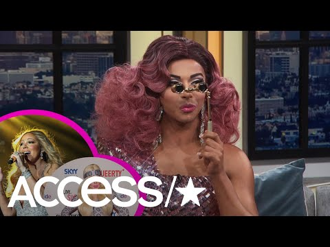 'RuPaul's Drag Race's' Shangela Reads Mariah Carey, Trixie Mattel & More! | Access