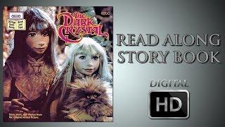 The Dark Crystal - Read Along Story Book - Jim Henson - Frank Oz - Gelfling - Aughra - Skeksis - Jen