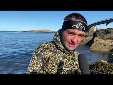 Тестируем подводные ружья в Норвегии. Пока на суше)))