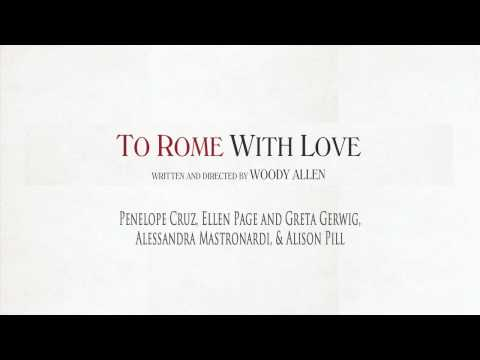 To Rome With Love - Los Angeles Press Conference with Woody Allen & Cast
