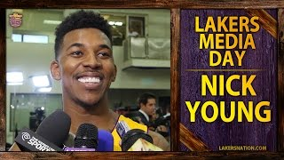Nick Young's HILARIOUS Lakers Media Day Interview