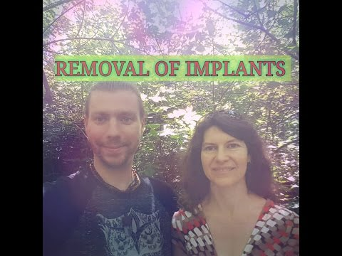 REMOVAL OF IMPLANTS / LIGHT LANGUAGE ACTIVATION
