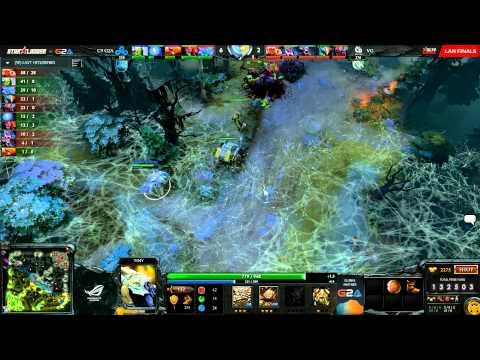 C9 vs VG - Starladder XII - LAN FInals - UB Semi Finals - G2