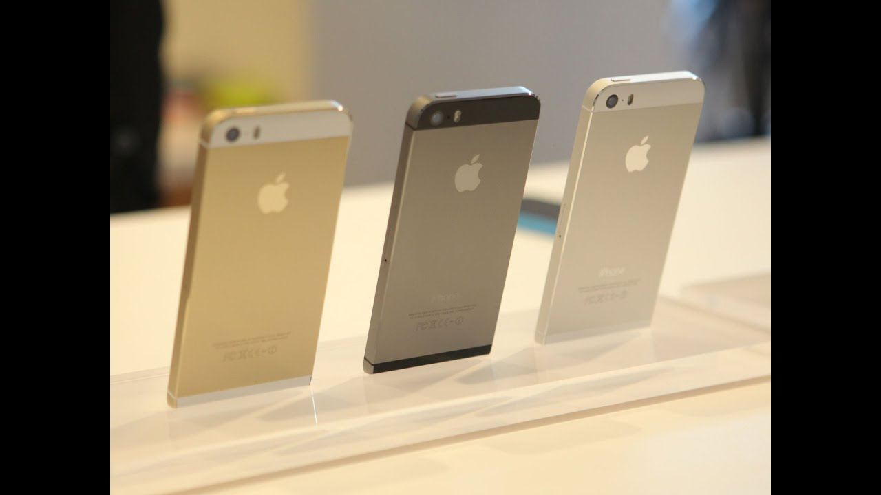 IPhone 5S Gold Silver Or Space Gray