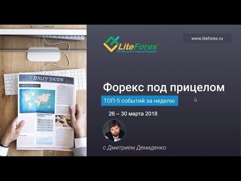 Форекс под прицелом. TOP-5 событий за неделю 26-30 марта 2018