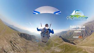 Flybubble Walk Climb Fly #5 — Clogwyn Y Person Arete Snowdonia