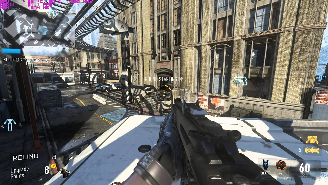 Like the previous game call of Duty Black Ops-2 the capturing of flag, killing the enemy in the combat. The final mission to protect the developed countries nuclear reactors from the terroristGraphics deployed in the game made the game of Call of Duty Advanced  Warfare a highly entertaining one.