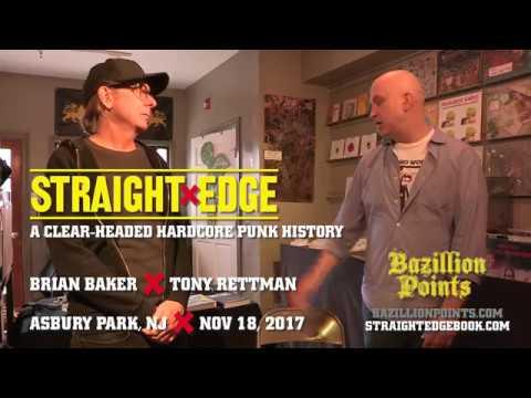 Brian Baker (Minor Threat) XX STRAIGHT EDGE: A Clear-Headed Hardcore Punk History Book Launch Q&A
