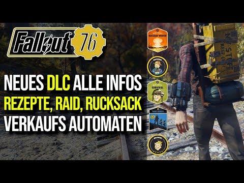 ALLE DLC INFOS    Rucksack, Verkaufsautomat, Events, Quest   Roadmap 2019   Fallout 76 thumbnail