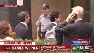 Daniel Weiner on MSNBC: Campaign Finance Questions in Michael Cohen's Plea Deal