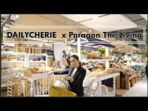 DAILYCHERIE : เดินดูของแต่งบ้านแบบแฟๆ ที่ Paragon The Living - วันที่ 26 Sep 2018