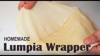 Homemade Lumpia Wrappers