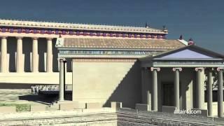 Акрополь в Афинах. 3D реконструкция(Акрополем в Афинах назывался высокий холм в центре города, на котором были построены главные храмы. Согласн..., 2016-02-08T12:15:43.000Z)