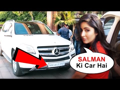OMG! Katrina Kaif Borrows Salman Khan's CAR For An Event