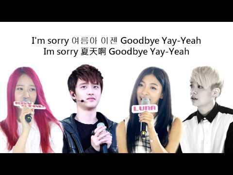 (+) [Album MP3] f(x) - Goodbye Summer (Amber Luna Krystal) (Feat. D.O. of EXO-K)