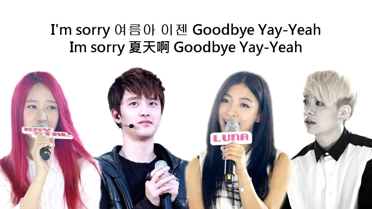 [中韓字幕] f(x) Amber Luna Krystal ft. D.O (EXO-K) - Goodbye ... F(x) Amber Pink Tape