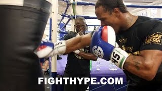 ANTHONY YARDE STRAIGHT BEAST MODE; GOING HAM NON-STOP AS HE LIGHTS UP HEAVY BAG