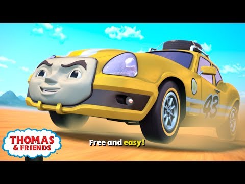 Thomas & Friends UK | Karaoke - Free And Easy! | Songs For Kids