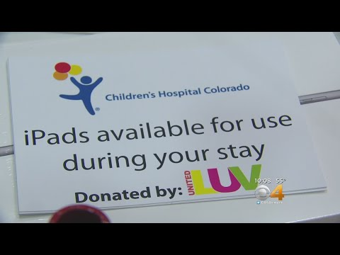 United Luv Donates iPads To Young Patients