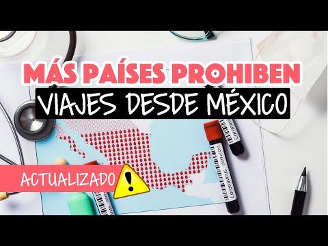Más países prohiben viajes desde México en mayo 2021