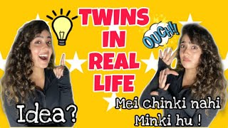 HOW IS IT TO HAVE A TWIN? | Part-2 | CHINKI MINKI