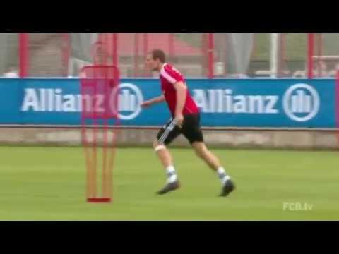 Allenamento fisico-tecnico Bayern Monaco - UP COACH